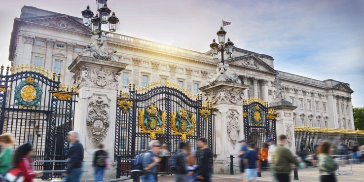 Top London Prep Schools. Picture of Buckingham palace gates