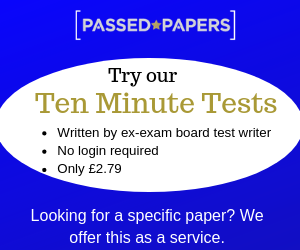Try our Ten Minute Tests