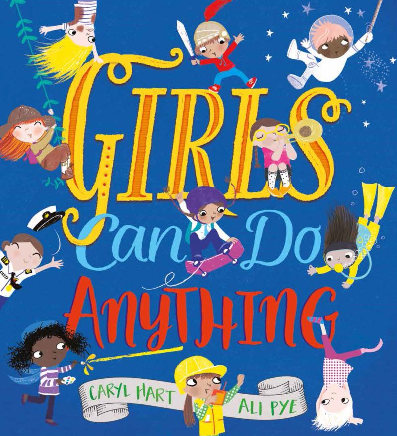 Girls can do anything book cover