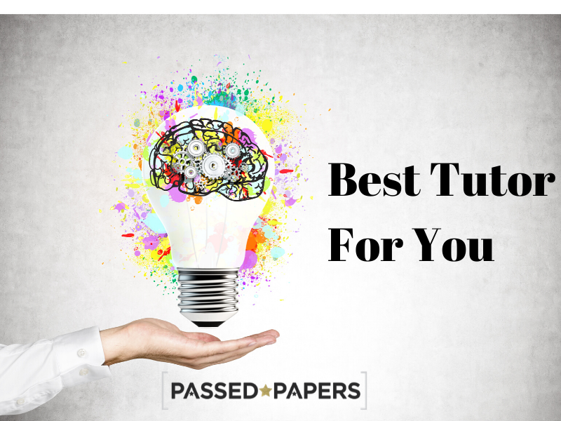 Best tutor for you with abstract picture of a light bulb