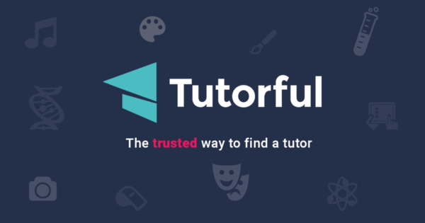 Tutorful logo to help you find the best tutor.