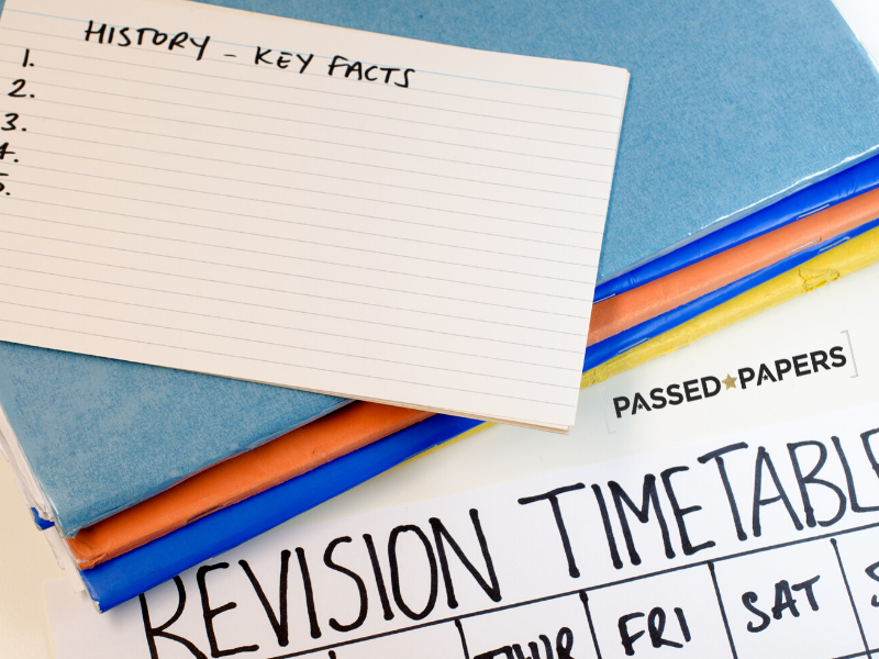 GCSE Revision Guide timetable