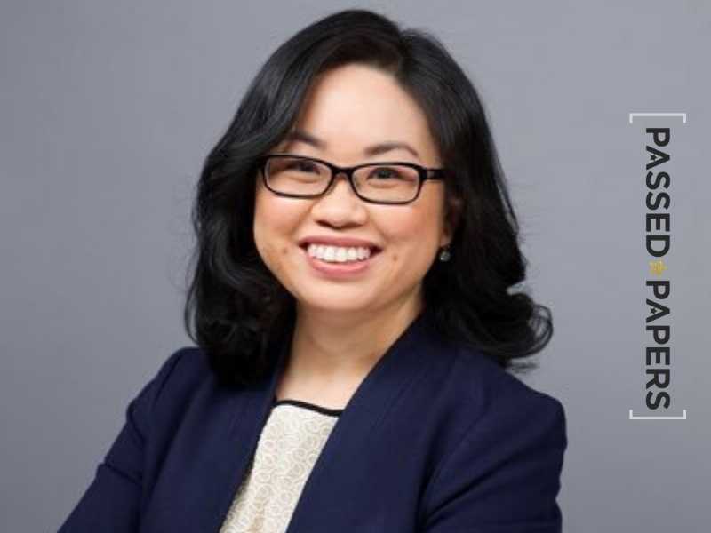 Vice President of Data Solutions Peggy Tsai