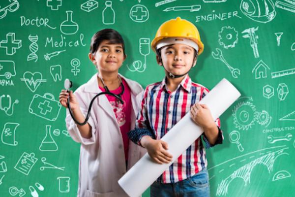 Future Jobs Children dressed up
