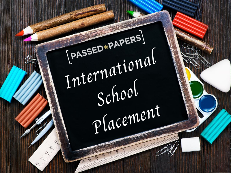 International School Placement