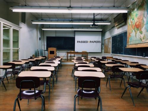 class room empty desks best north-west Schools 2021