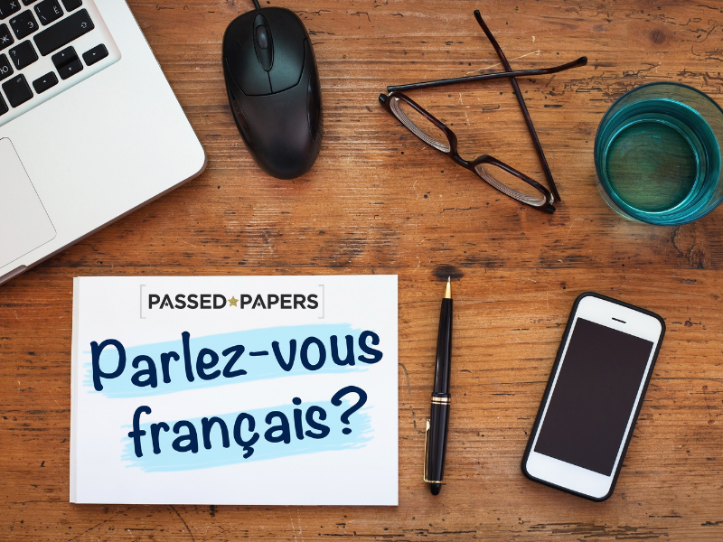 French Leaning Parlez-vous francais
