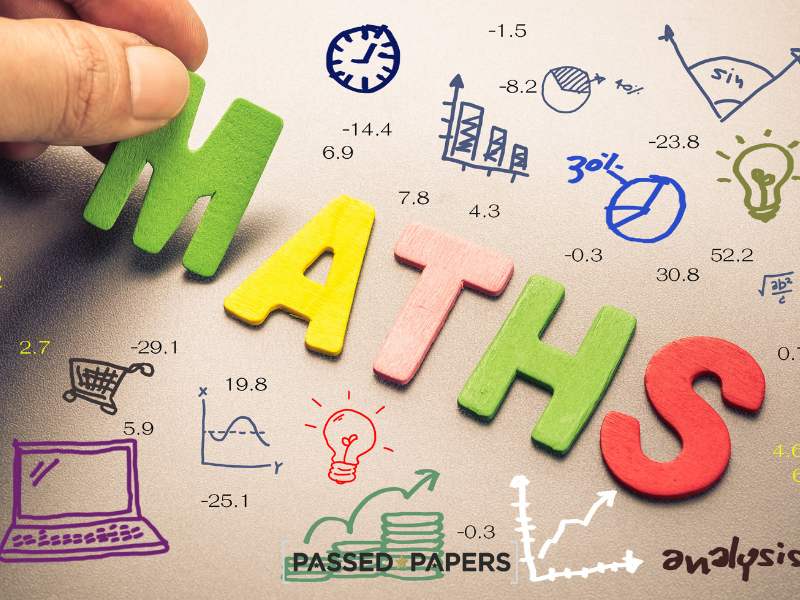 Maths in letters for maths careers