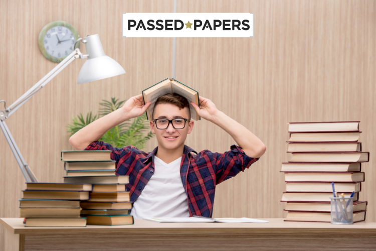 English GCSE Past Papers boy at desk (1)