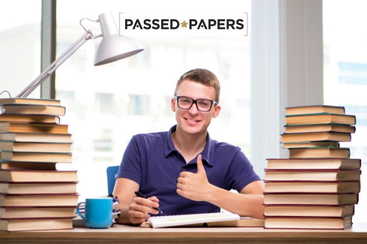 English GCSE Past Papers boy at desk